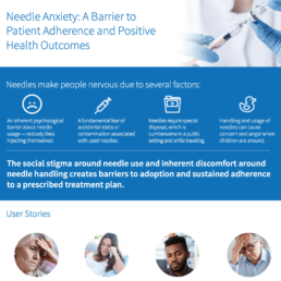 Needle Anxiety: A Barrier to Patient Adherence and Positive Health Outcomes