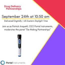 Portal Instruments Needle Free Drug Delivery Partnerships