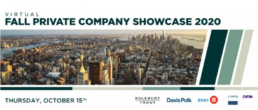 Virtual Fall Private Company Showcase 2020